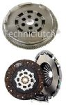 DUAL MASS FLYWHEEL DMF & CLUTCH FIAT DOBLO 1.9 D MULTIJET
